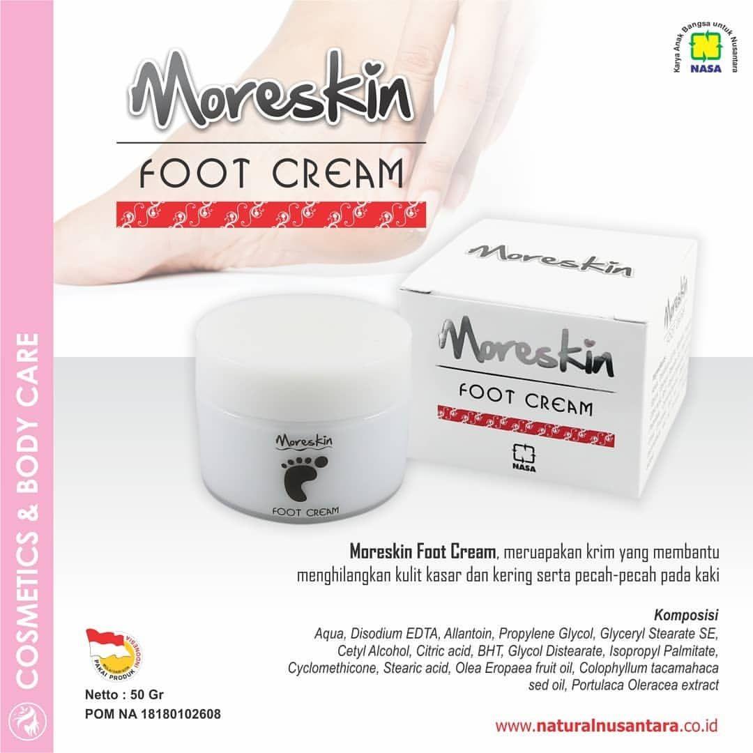 Moreskin Foot Cream Nasa Untuk Kulit Pecah-pecah