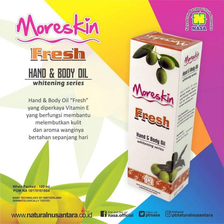 Moreskin Hand Body Oil Fresh