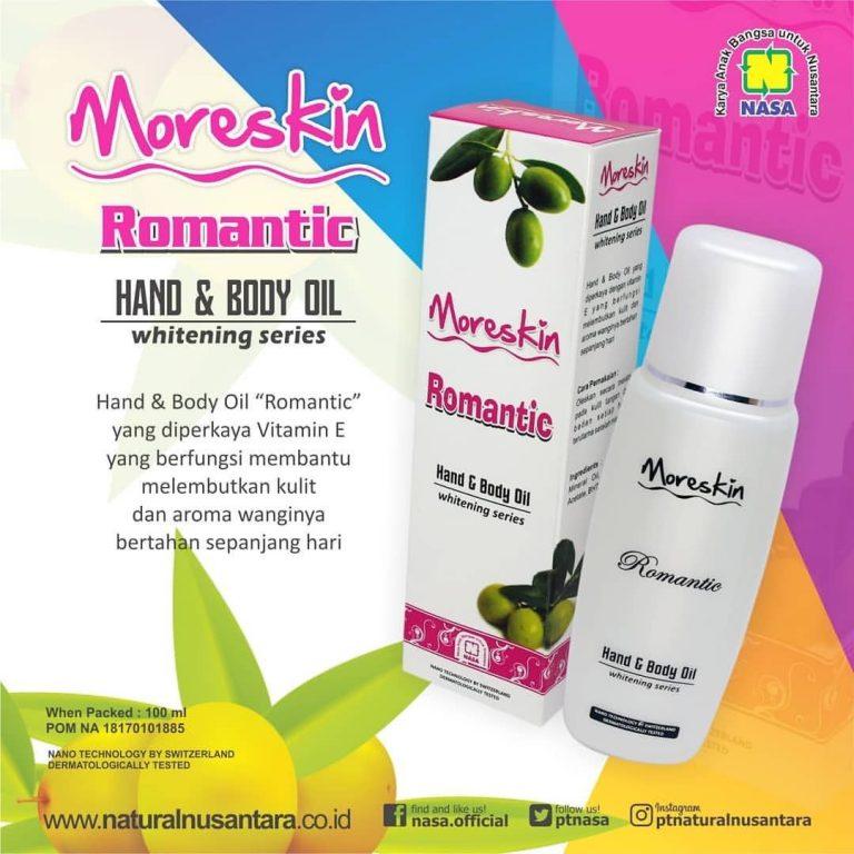 Moreskin Hand Body Oil Romantic
