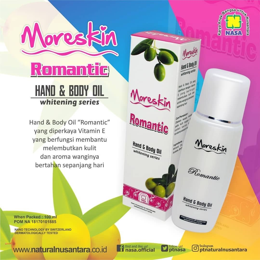 Moreskin Hand Body Oil Romantic