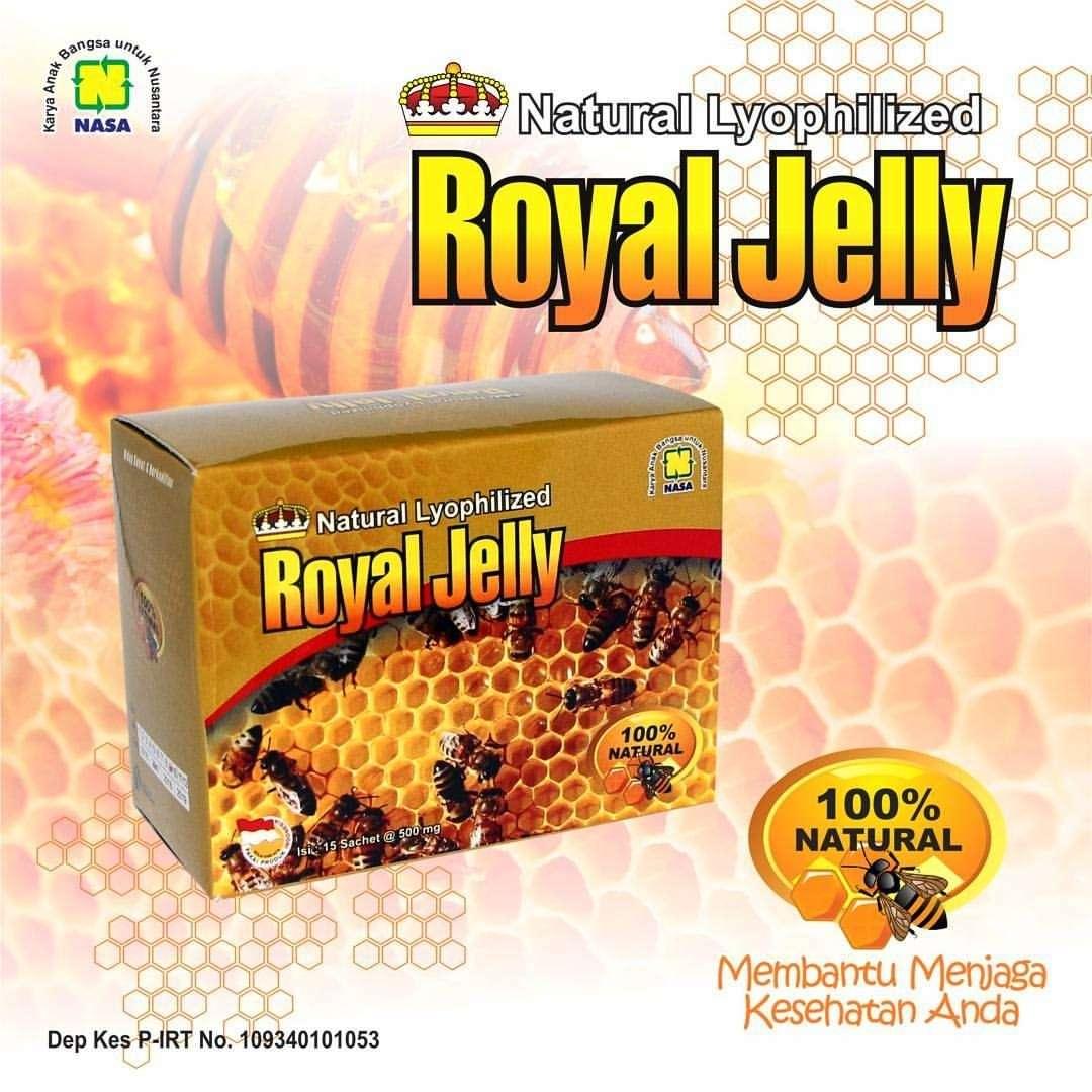 Gambar Natural Royal Jelly Nasa