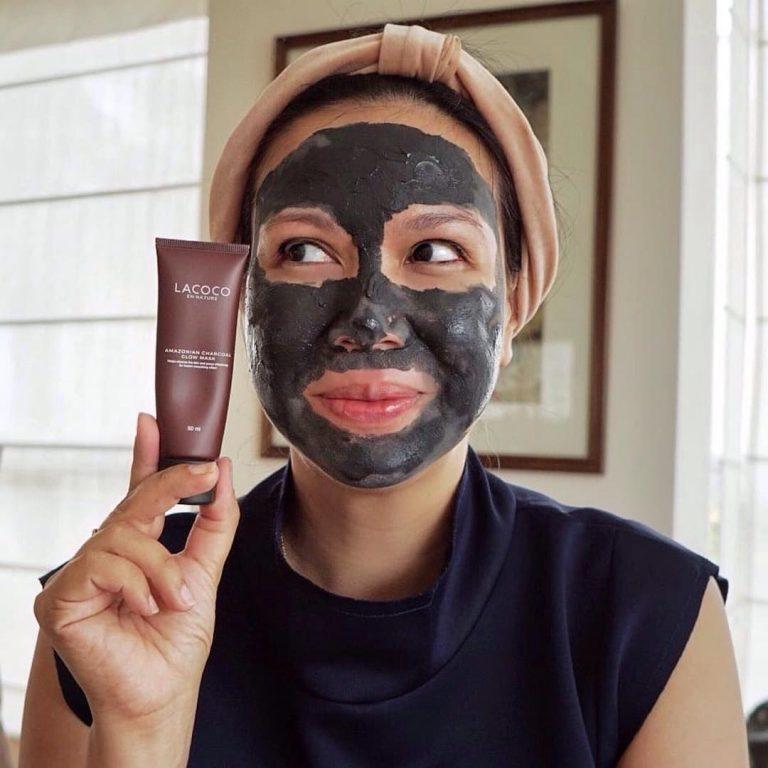 Penggunaan Lacoco Charcoal Glow Mask