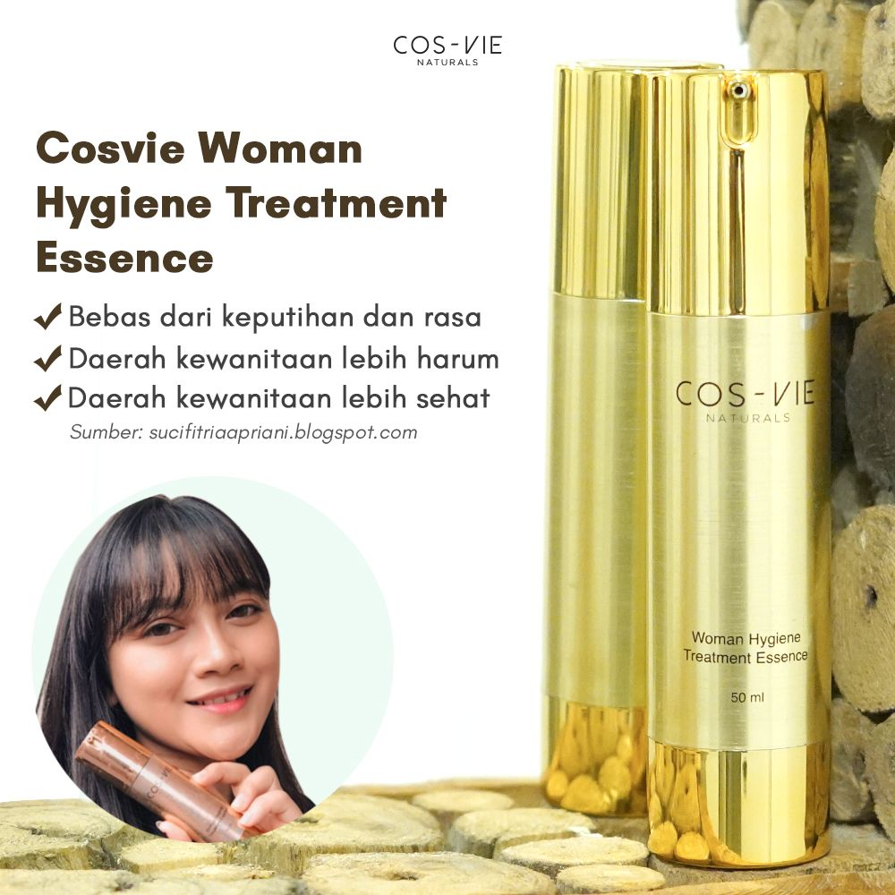 Testimoni Cosvie Women Essence Nasa