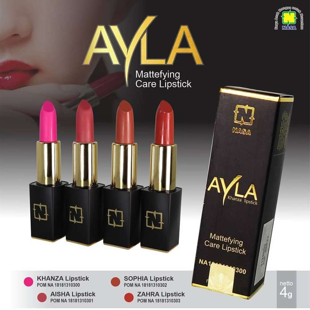 AYLA Lipstik Mattefying Care NASA