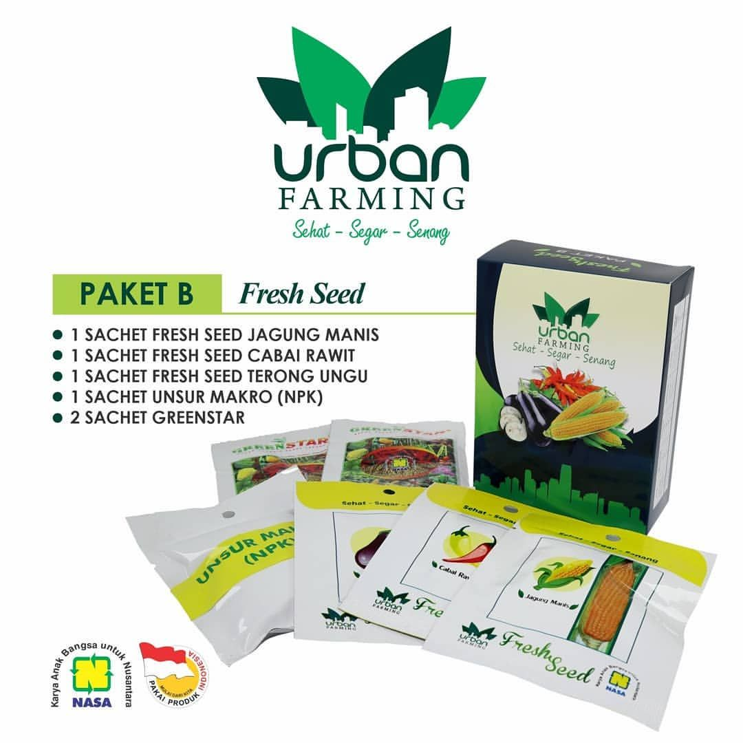 Isi Urban Farming Paket B NASA