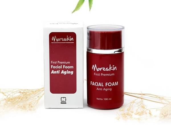 Moreskin Facial Foam NASA