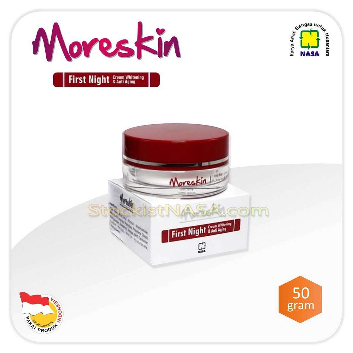 Moreskin First Night Cream Anti Aging
