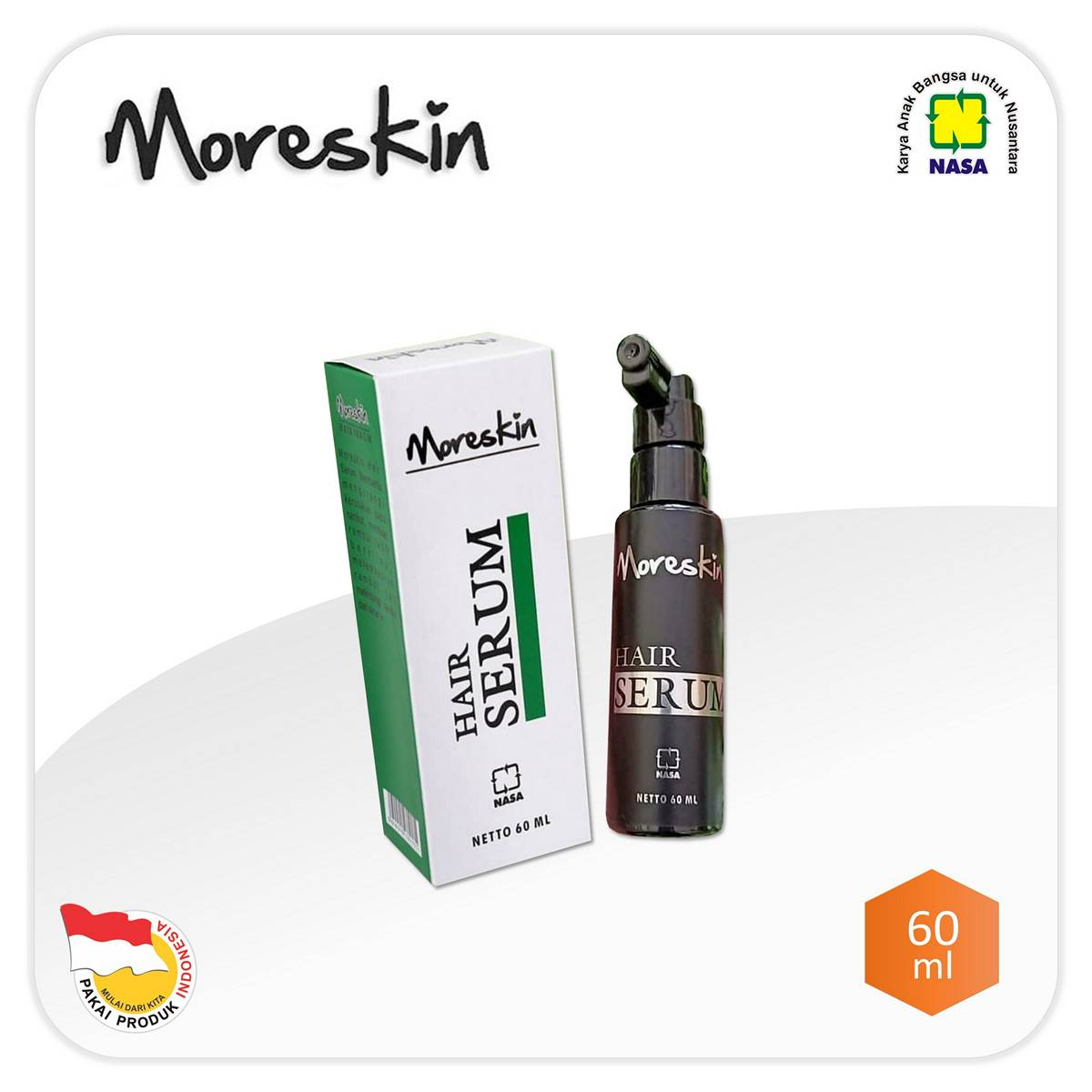 Moreskin Hair Serum NASA