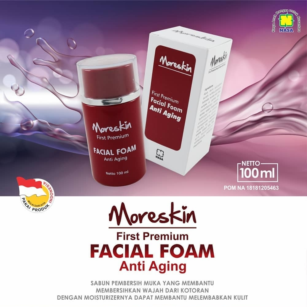 Moreskin Fist Premium Facial Foam Anti Aging