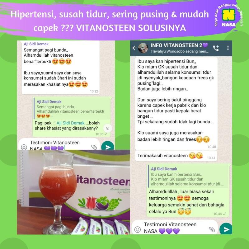 Vitanosteen Mengatasi Hipertensi