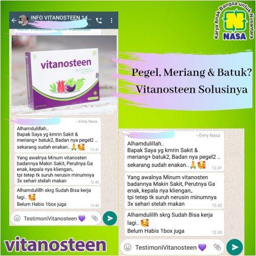 Vitanosteen Mengatasi Pegel Meriang & Batuk