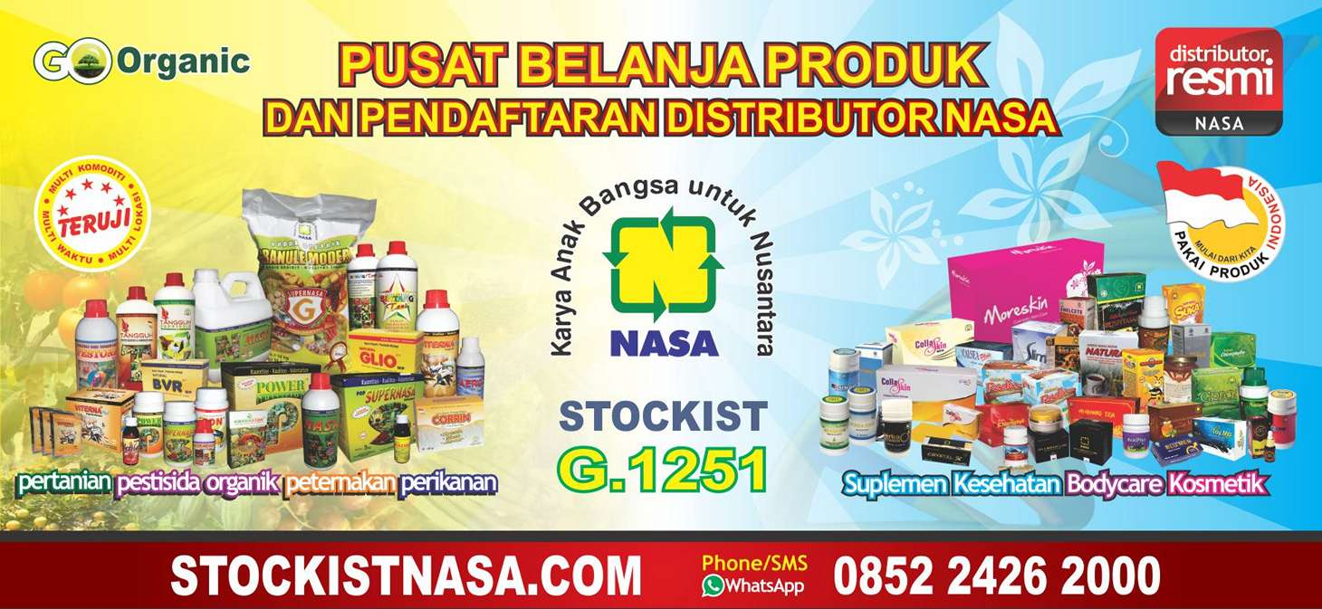 Banner Stockist Nasa Web
