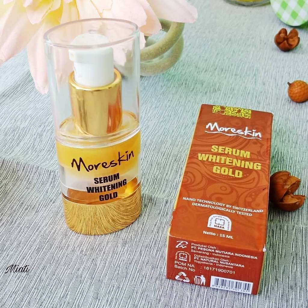 Moreskin Serum Gold Nasa
