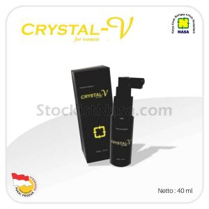 Crystal V Spray Nasa