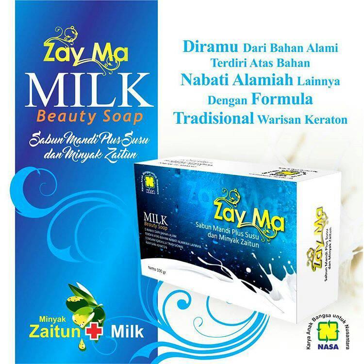 ZAYMA Milk Beauty Soap Nasa