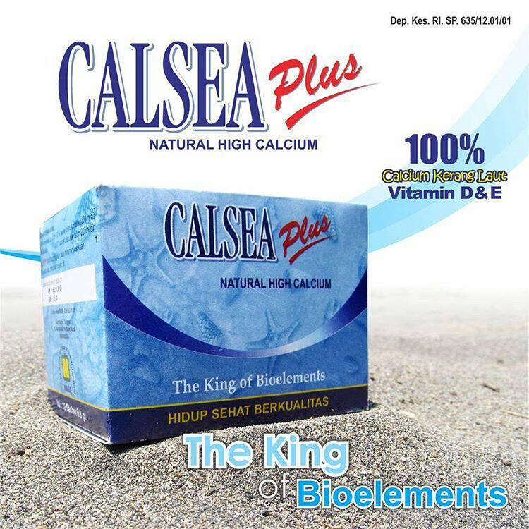 Calsea Plus Nasa Kalsium Tinggi