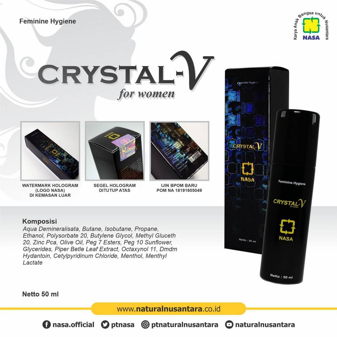 Gambar Crystal V Nasa