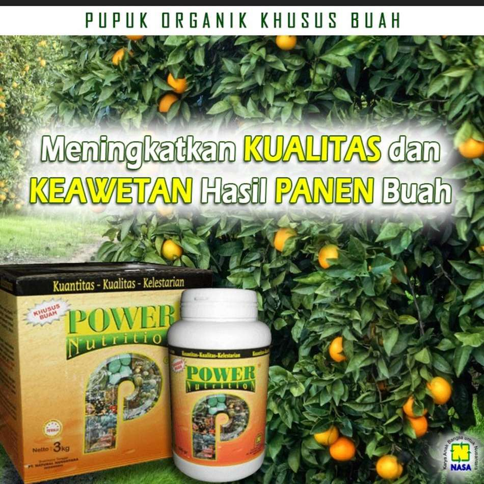 Gambar Power Nutrition Nasa