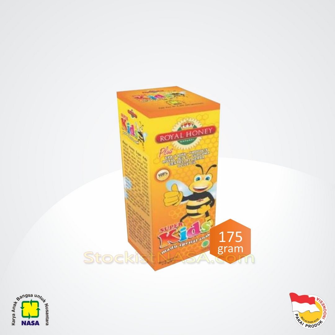 Madu Royal Honey Super Kids Nasa