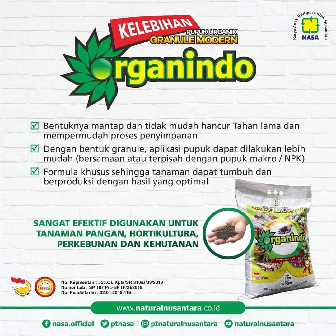 Manfaat Pupuk Organik Organindo Nasa