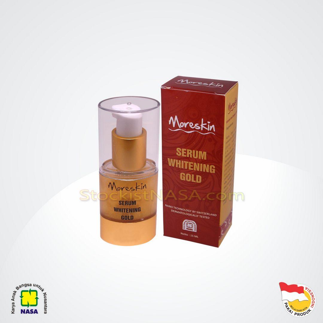 Moreskin Serum Whitening Gold Nasa