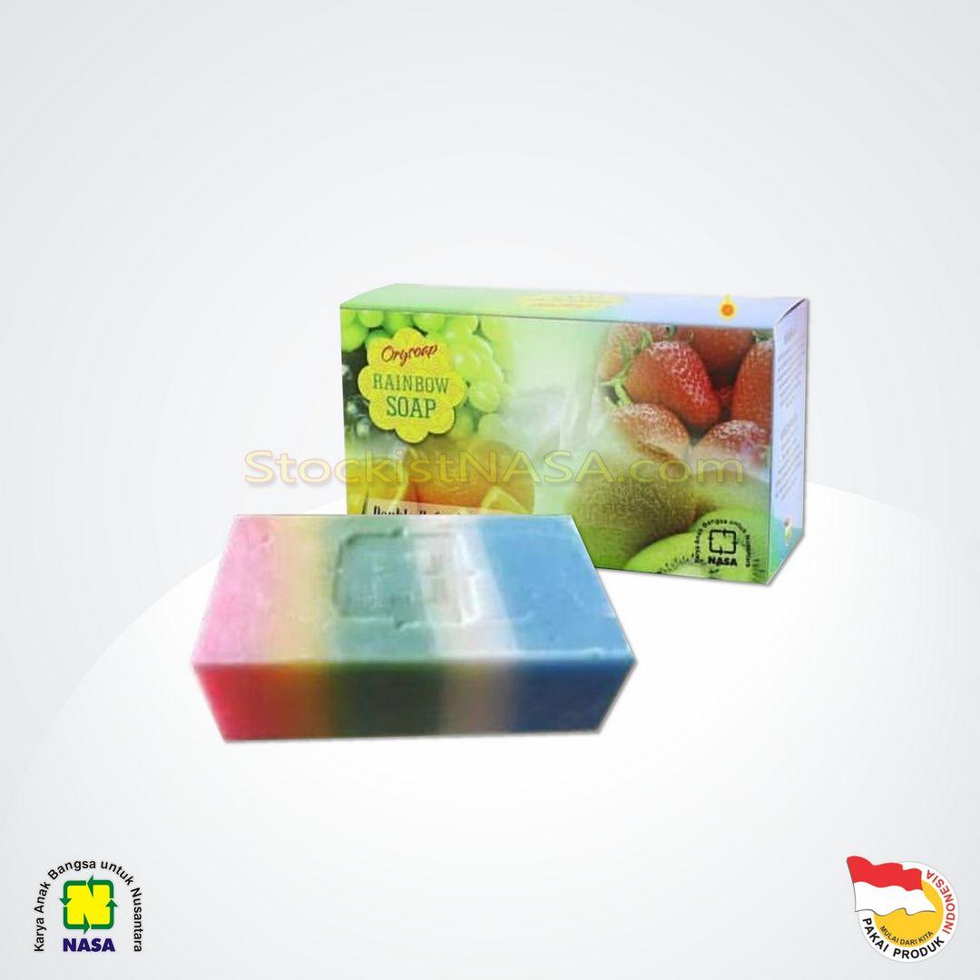 Orysoap Rainbow Soap Nasa