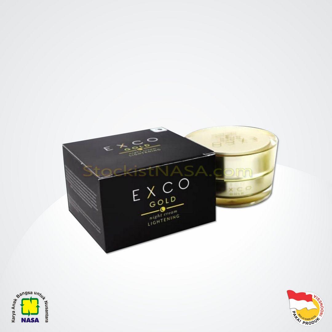 EXCO Gold Night Cream Lightening