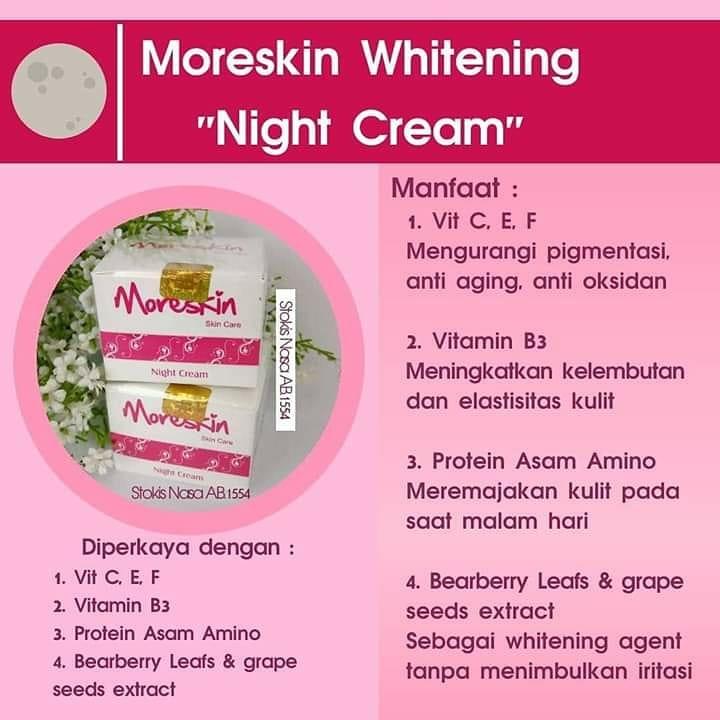 Manfaat Moreskin Night Cream