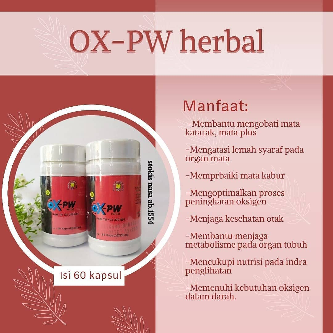Manfaat OXPW Herbal Nasa