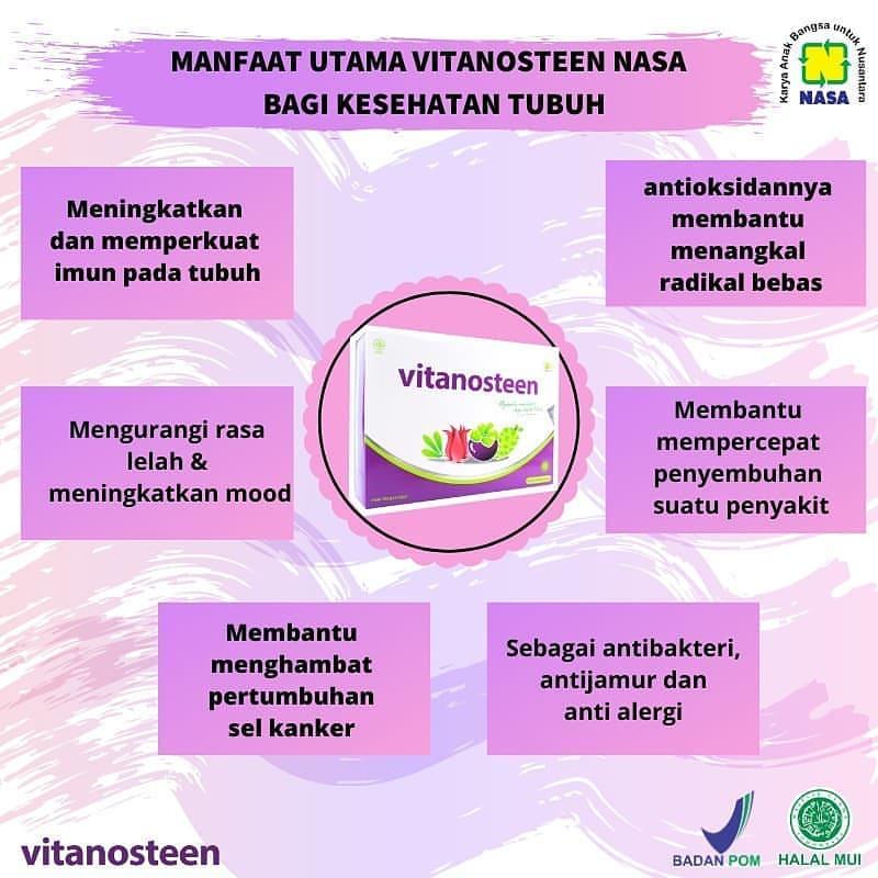 Manfaat Vitanosteen Nasa