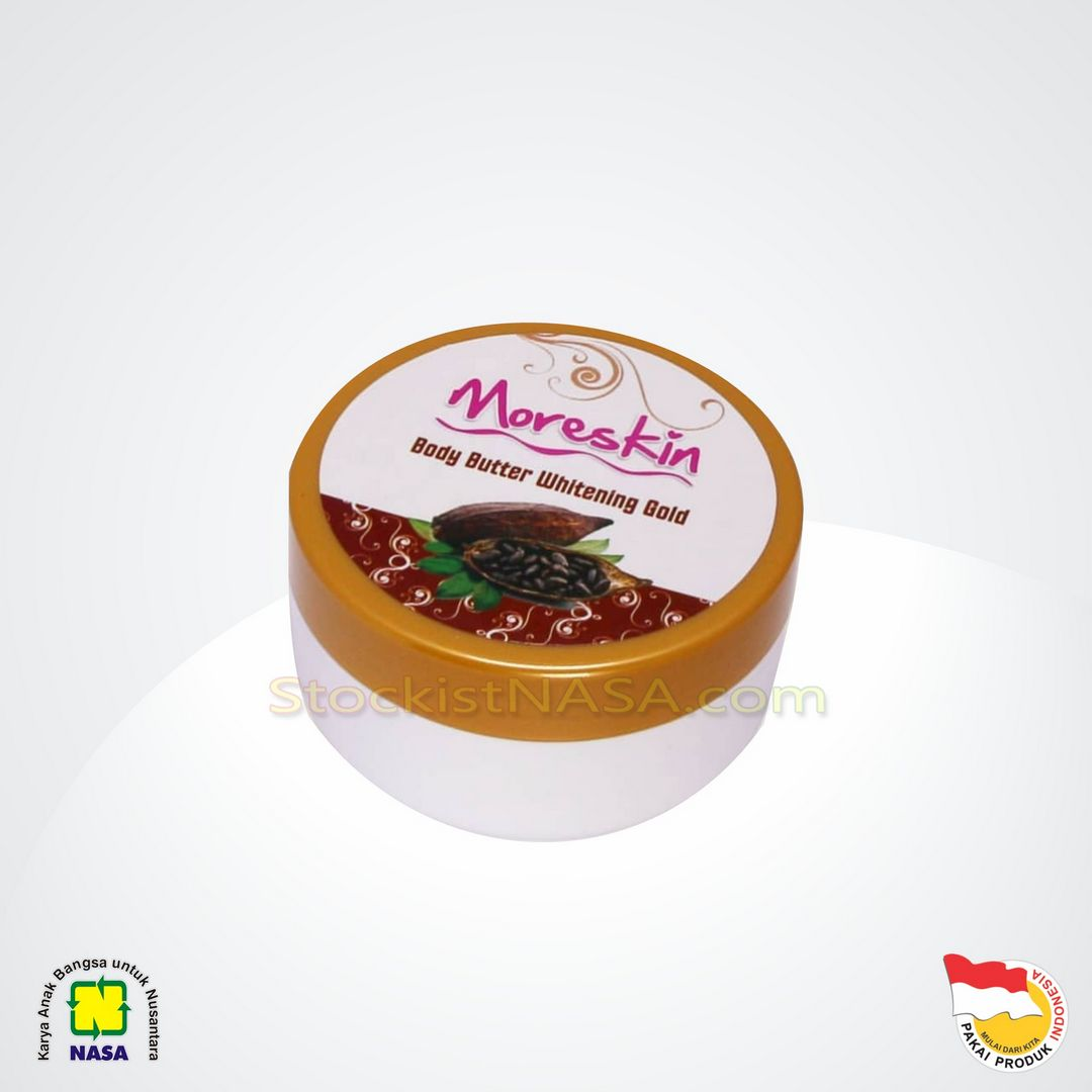 Moreskin Body Butter Whitening Gold