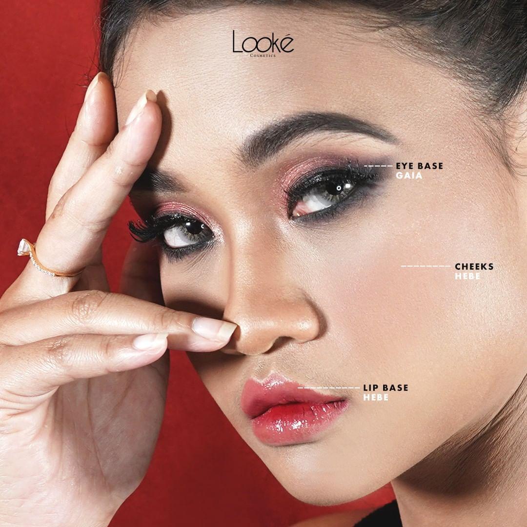 Pemakaian Looke Lip Cream Nasa