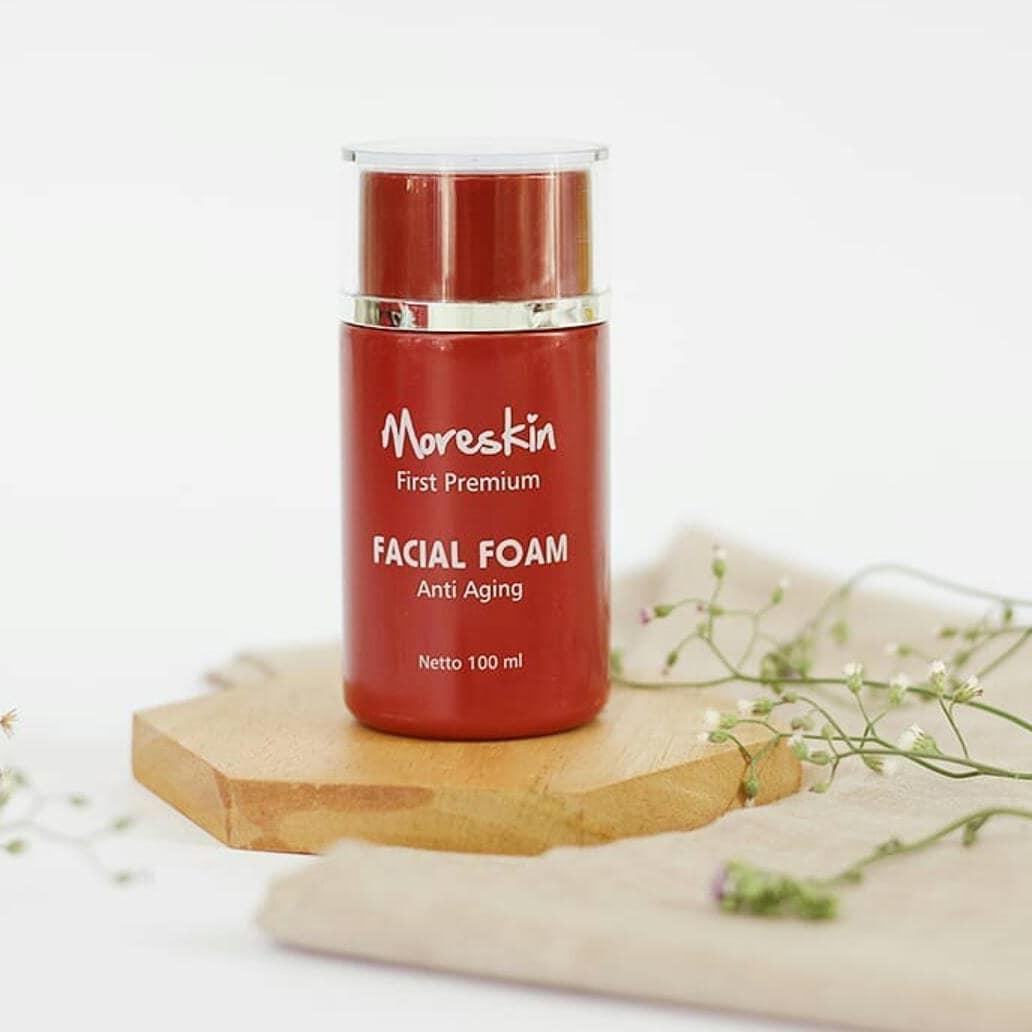 Premium Facial Foam Anti Aging