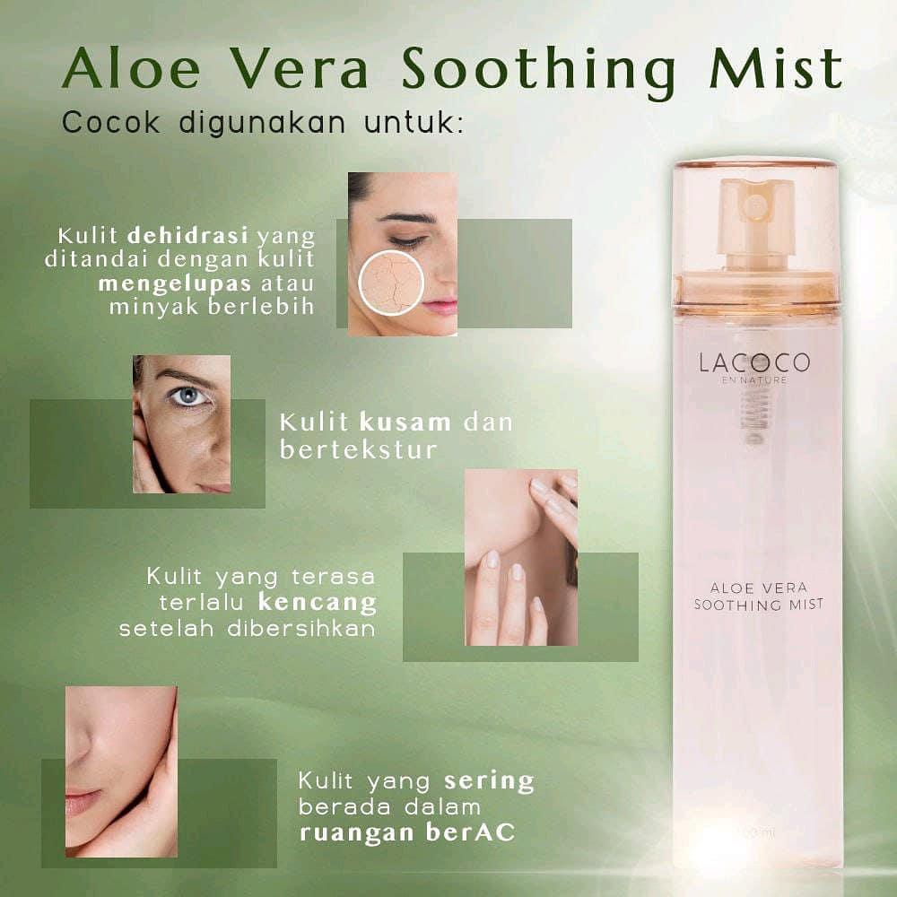 Fungsi Aloe Vera Soothing Mist