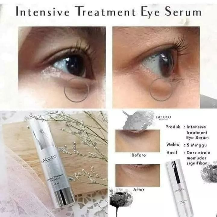 Hasil Lacoco Eye Serum