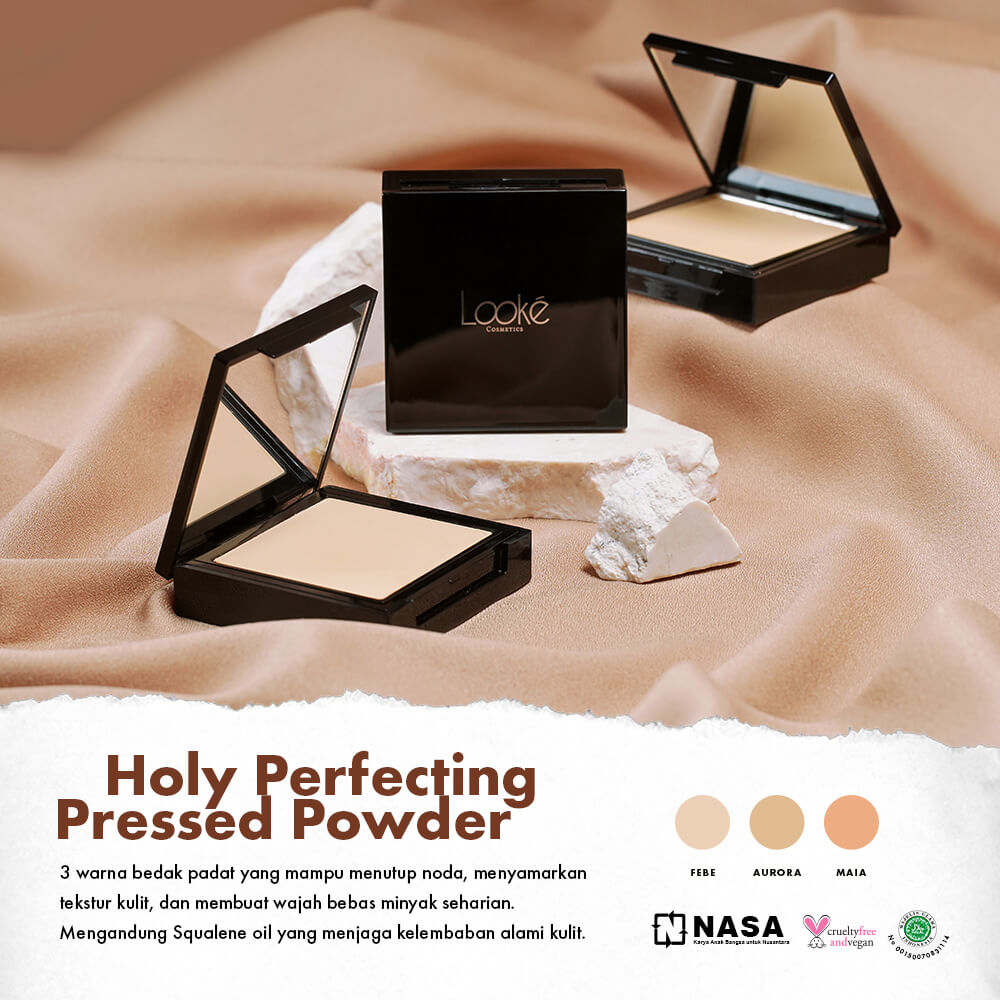 Manfaat Looke Holy Pressed Powder