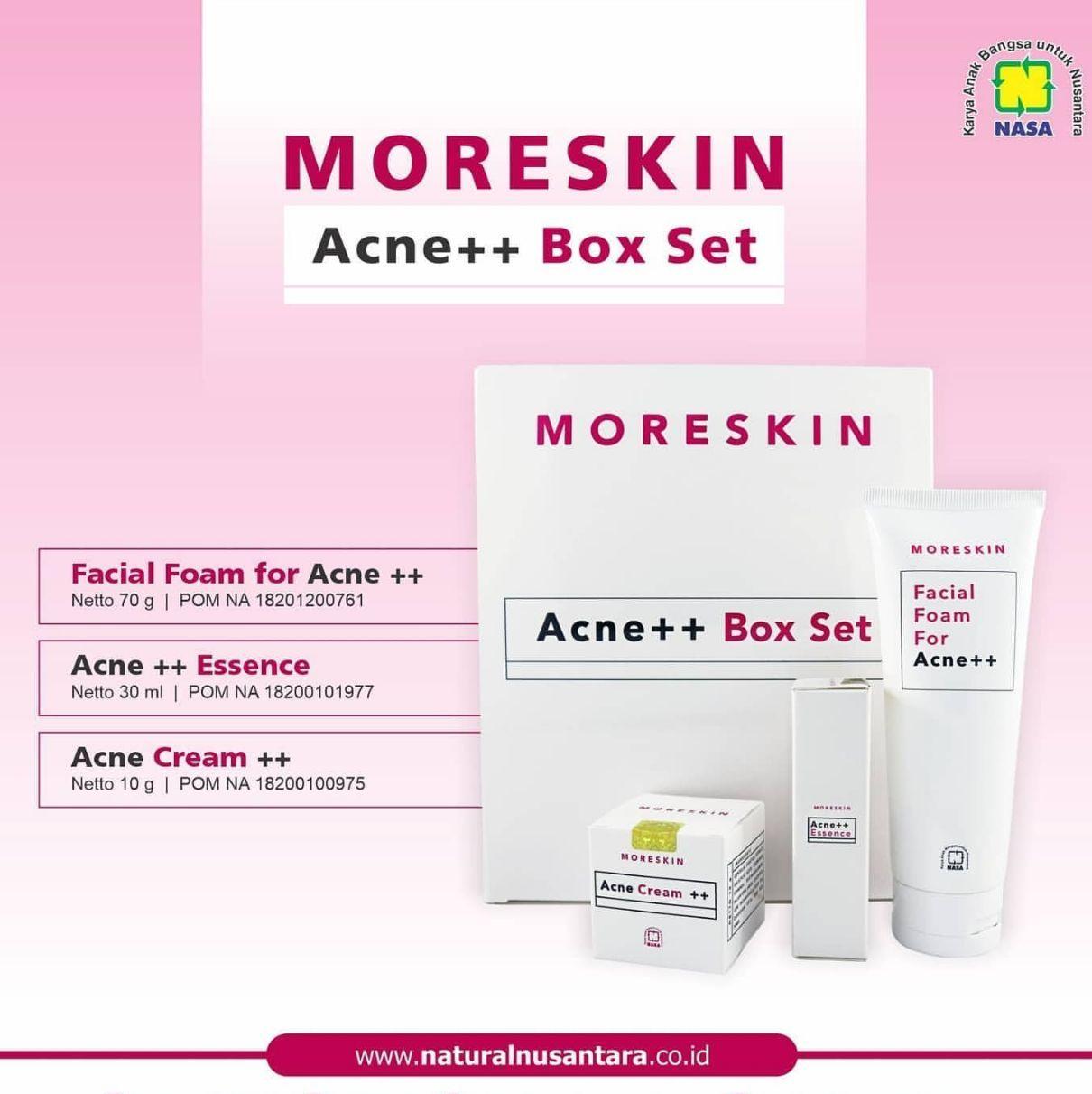 Moreskin Acne Series Nasa