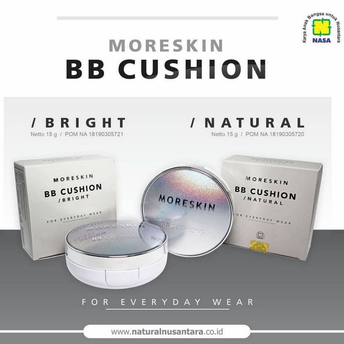 Gambar Moreskin BB Cushion