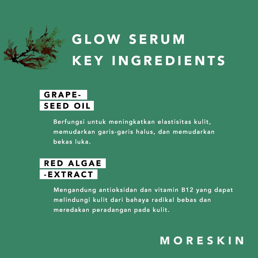 Manfaat Moreskin Serum Glow