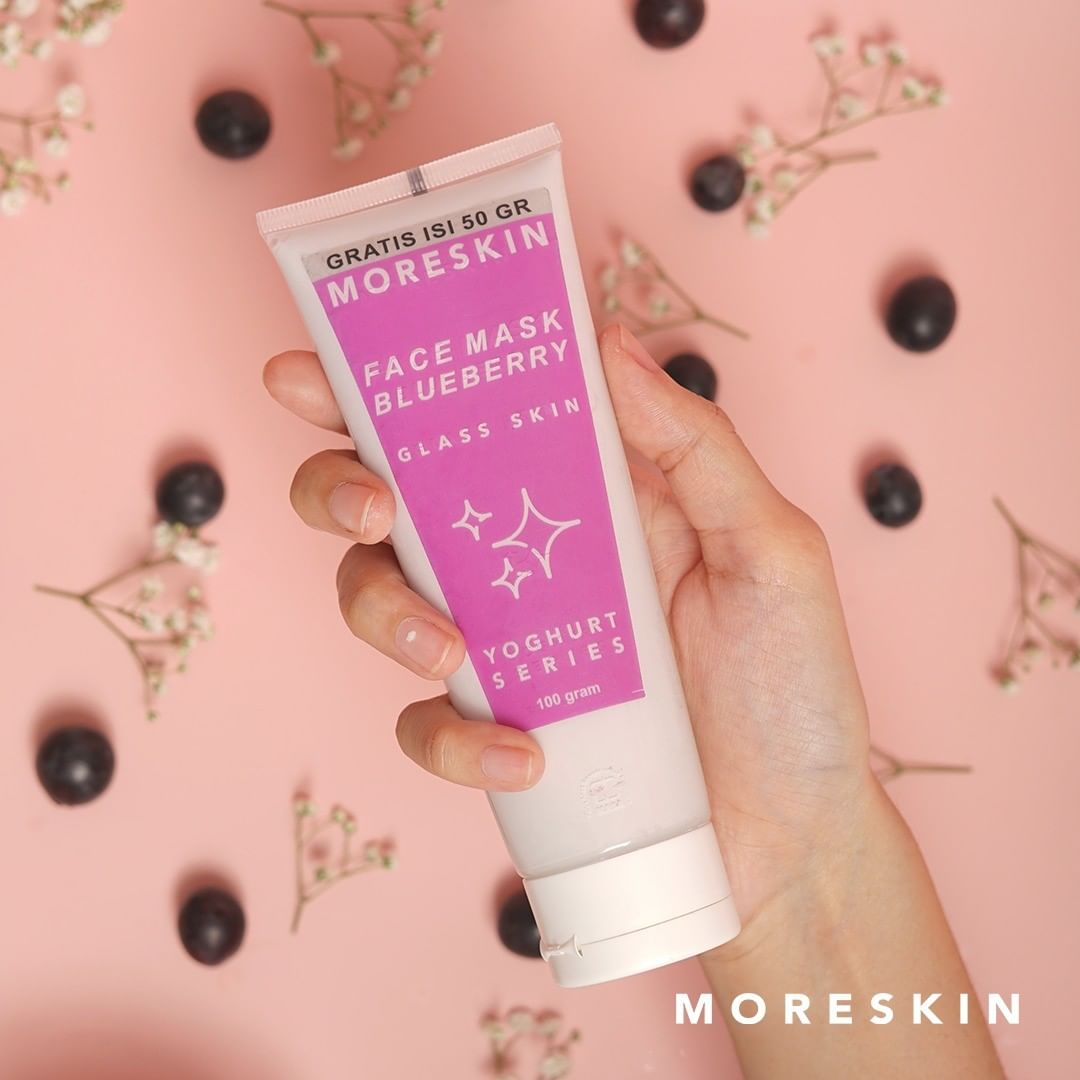 Moreskin Blueberry Face Mask NASA