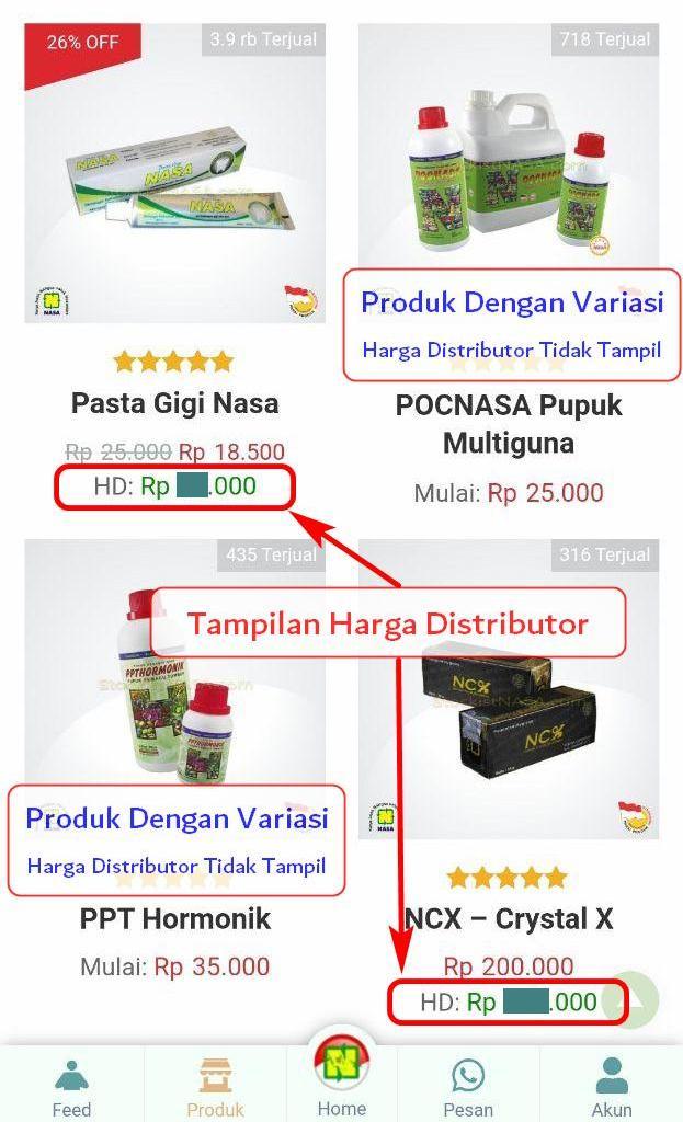 Cara Order Mitra Nasa 1