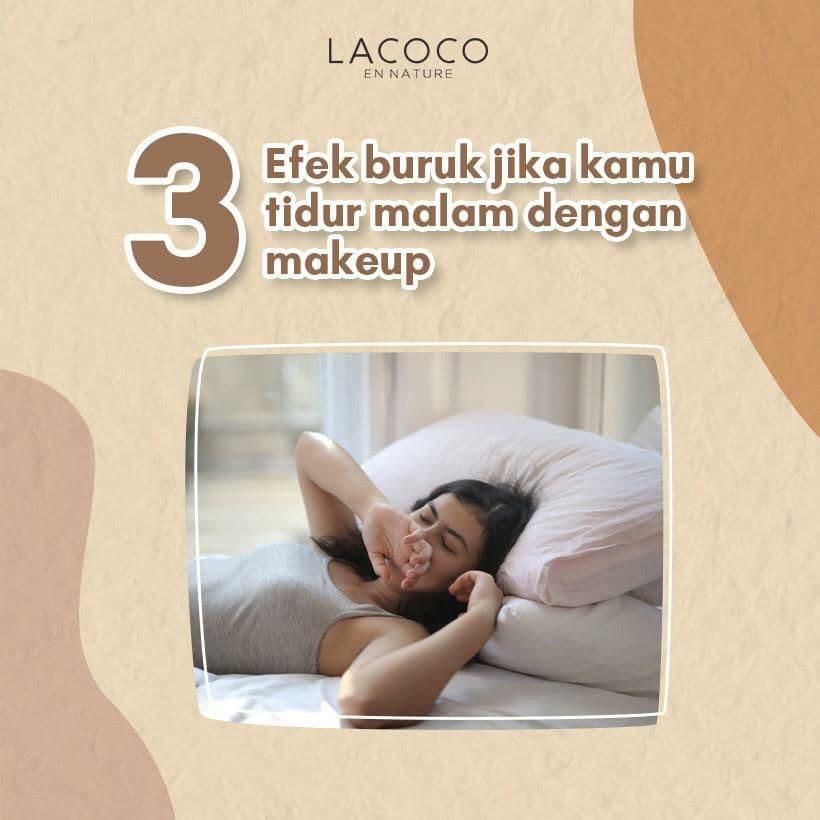 3 Efek Buruk Tidur Malam dengan Makeup