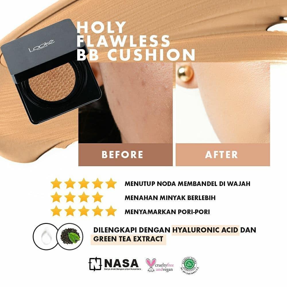 Review Holy Flawless BB Cushion Nasa