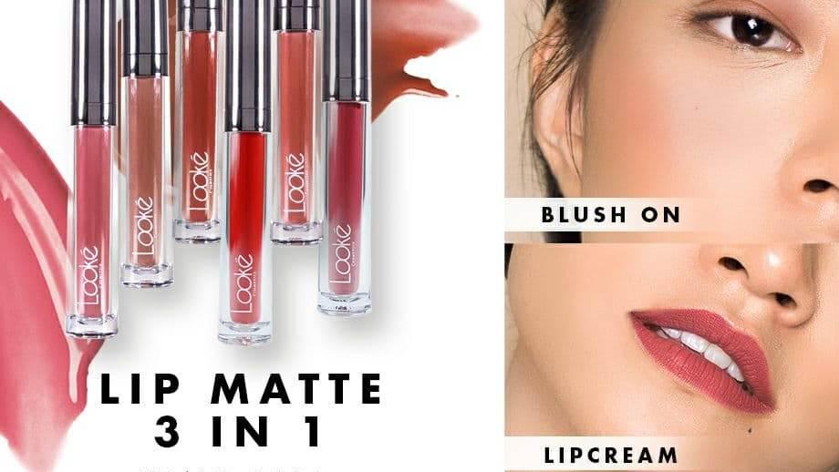Holy Lip Cream Looke 3 in 1
