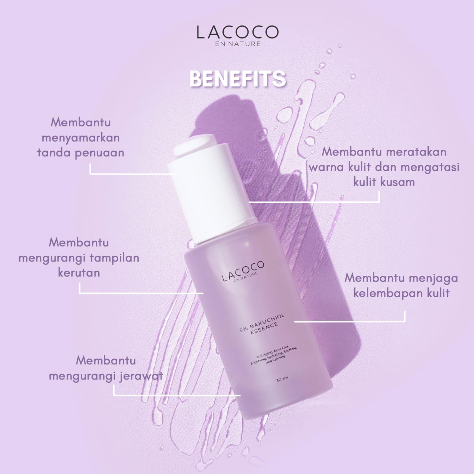 Manfaat Lacoco 5% Bakuchiol Essence