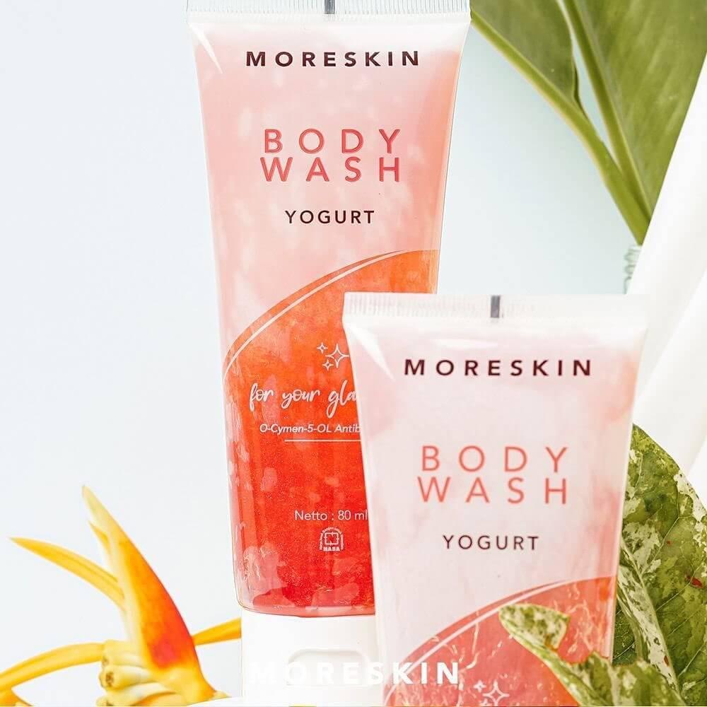 Moreskin Body Wash Yogurt